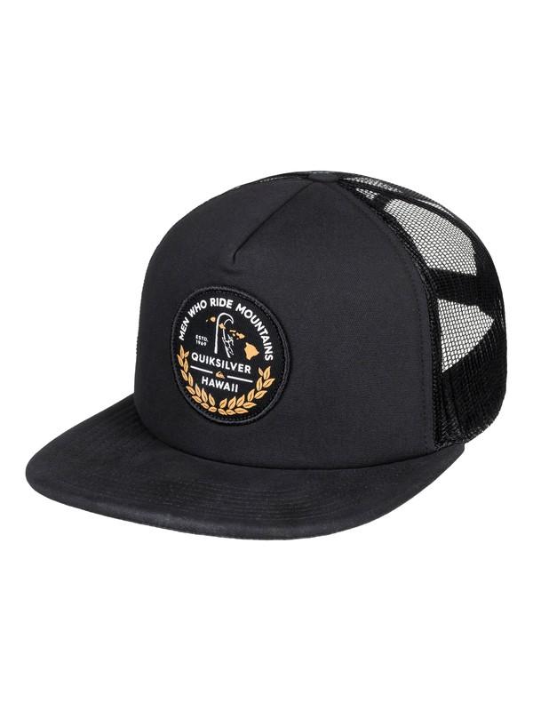 0 MWRM - Trucker Cap - Trucker Cap for Men Black AQYHA04116 Quiksilver