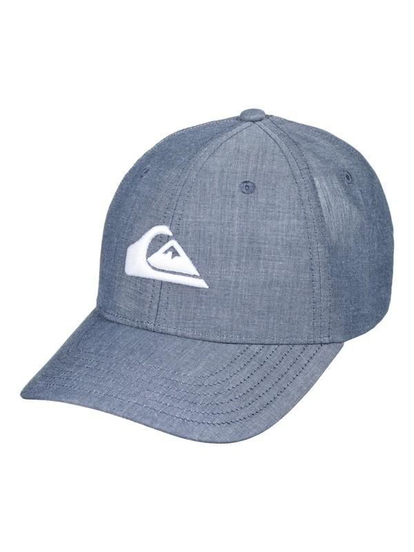0 Charger Plus - Snapback Cap for Men Blue AQYHA04140 Quiksilver
