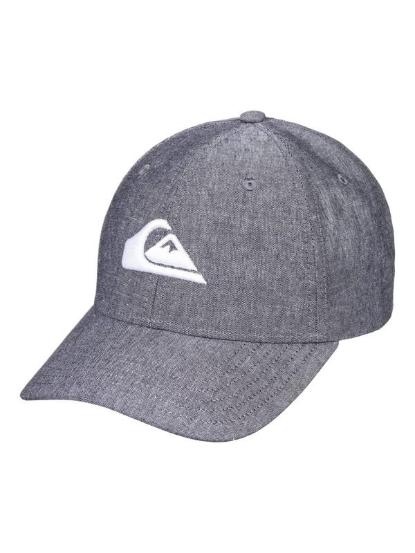 0 Charger Plus - Snapback Cap for Men Black AQYHA04140 Quiksilver