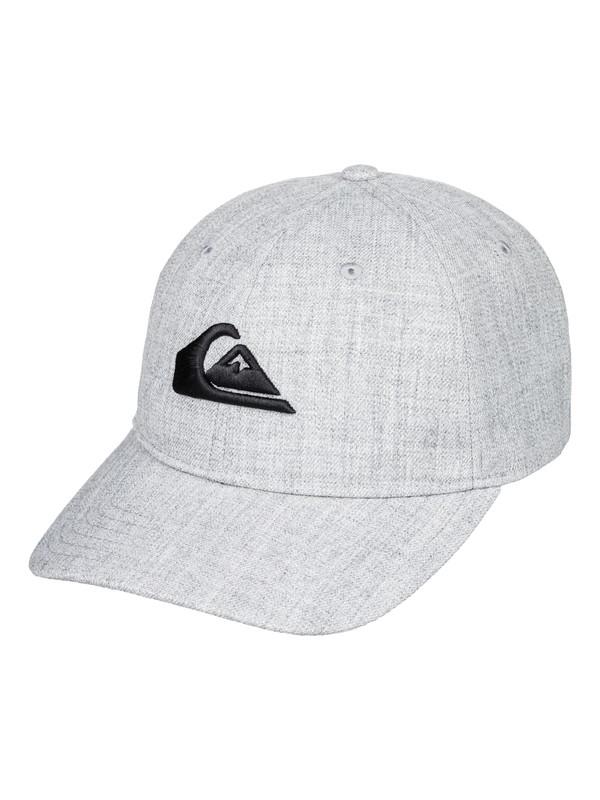0 Charger Plus - Snapback Cap for Men Grey AQYHA04140 Quiksilver