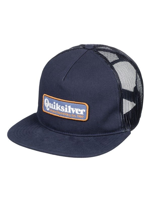 0 Pursey - Casquette trucker pour Homme Bleu AQYHA04146 Quiksilver