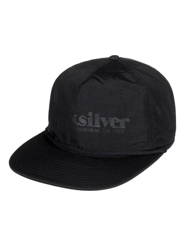 0 Torrie Piner Snapback Hat Black AQYHA04157 Quiksilver