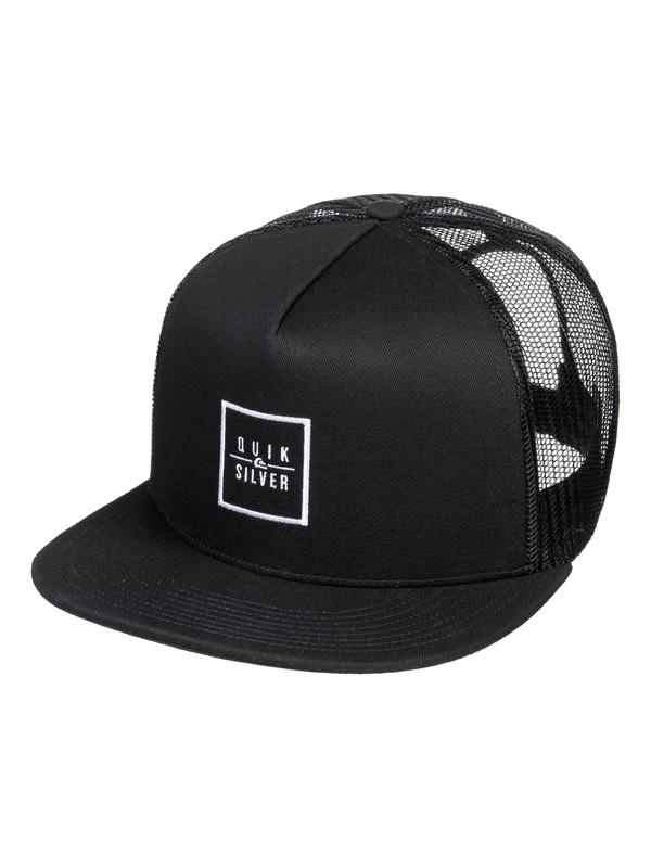 0 Clip Charger Trucker Hat Black AQYHA04161 Quiksilver