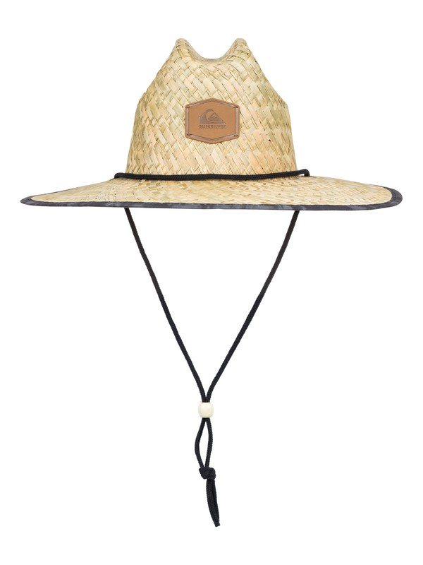 0 Outsider Straw Lifeguard Hat Black AQYHA04169 Quiksilver