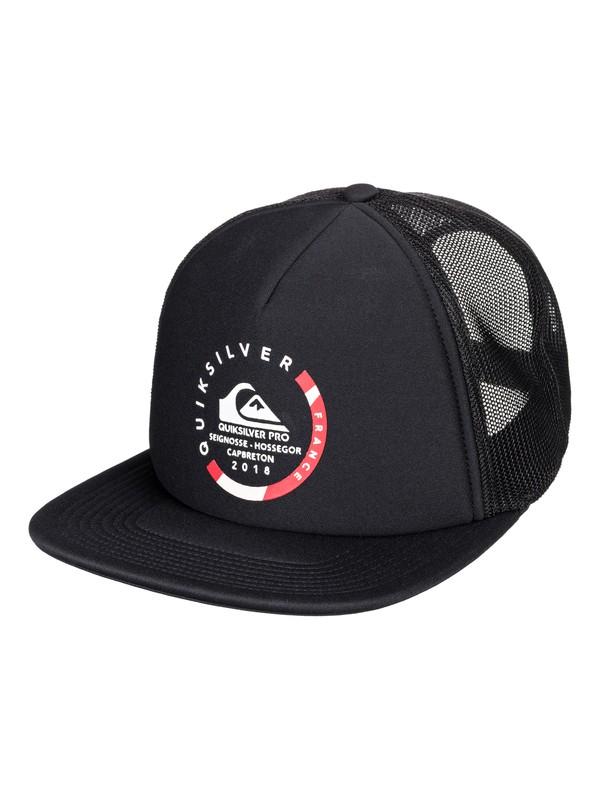 0 Quik Pro France - Trucker Hat for Men  AQYHA04170 Quiksilver