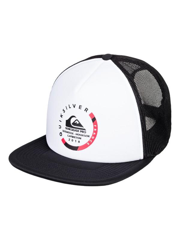 0 Quik Pro France - Trucker Hat for Men White AQYHA04170 Quiksilver