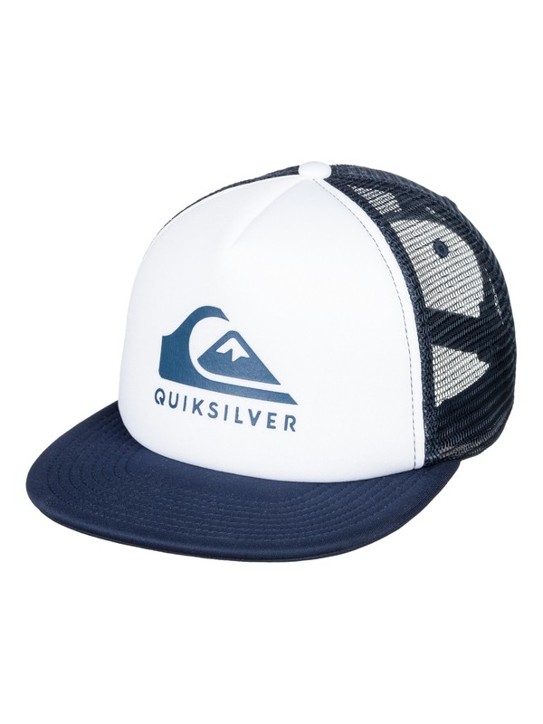 0 Foamslay - Trucker Cap for Men White AQYHA04196 Quiksilver