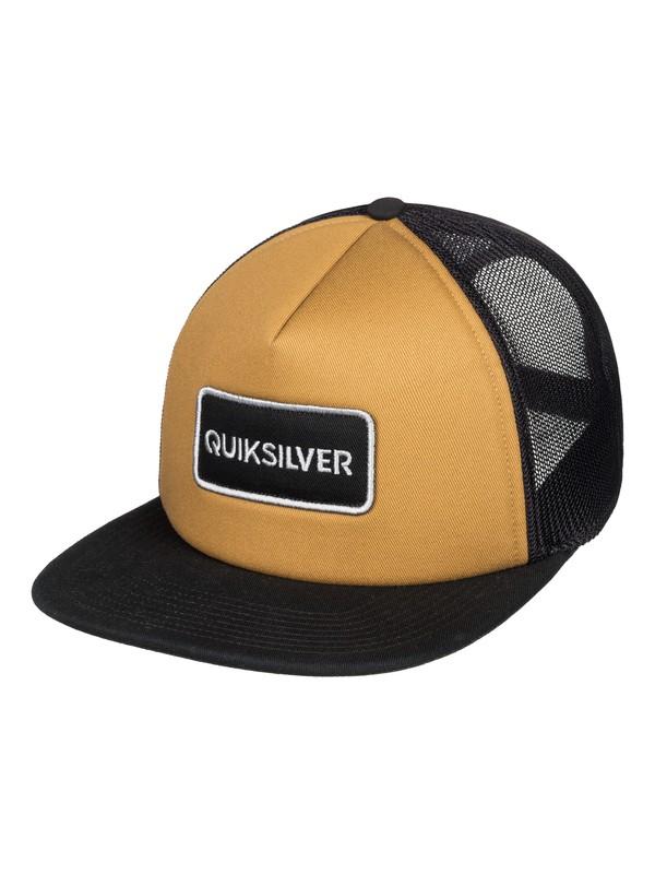 0 Startles - Trucker Cap for Men Brown AQYHA04213 Quiksilver