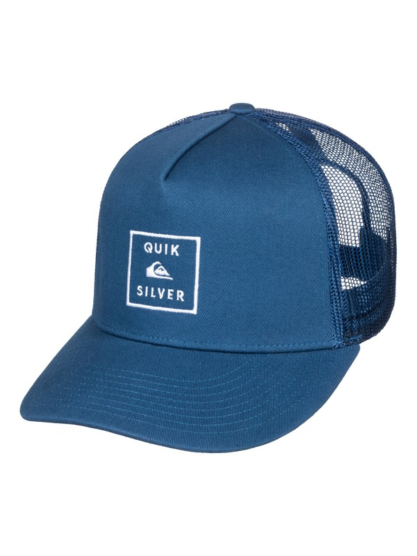 0 Clipster Snapback Hat Blue AQYHA04220 Quiksilver