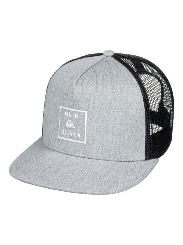 0 Clipster Snapback Hat Black AQYHA04220 Quiksilver