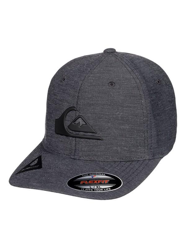 0 Amphib Texture Flexfit Hat Black AQYHA04223 Quiksilver