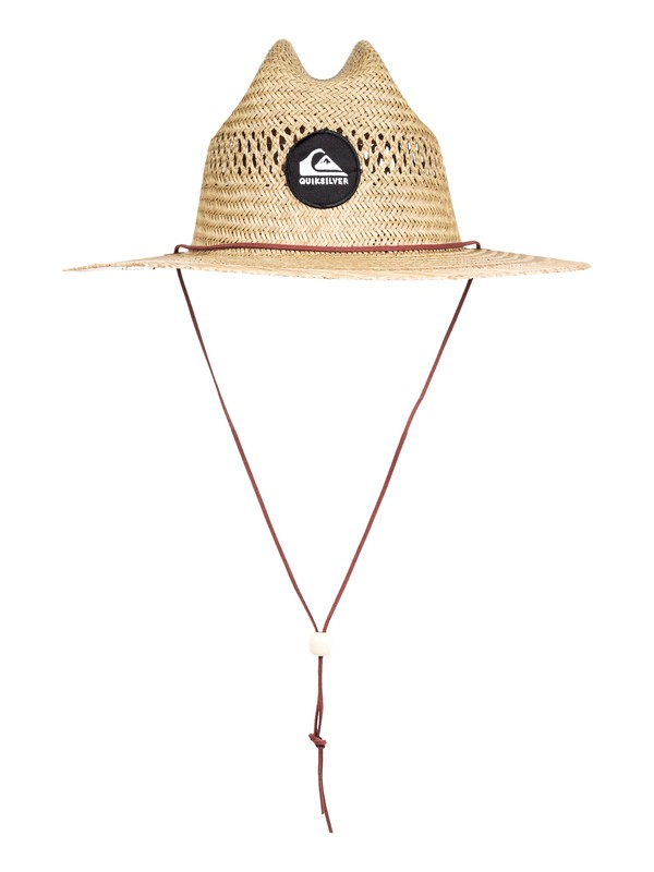 0 Pierside Slimbot Straw Lifeguard Hat Yellow AQYHA04229 Quiksilver