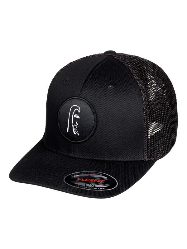 0 MWRM Daddy Flexfit Hat Black AQYHA04291 Quiksilver