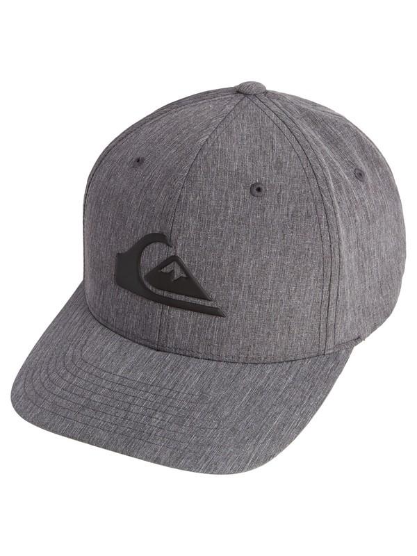 0 Amped Up Amphibian Flexfit® Hat Black AQYHA04294 Quiksilver