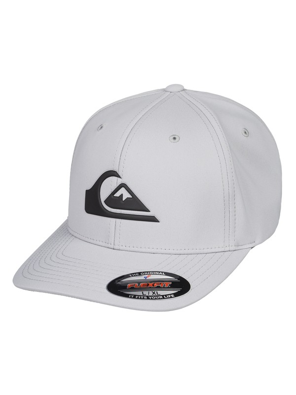 0 Amped Up Flexfit® Hat Grey AQYHA04294 Quiksilver