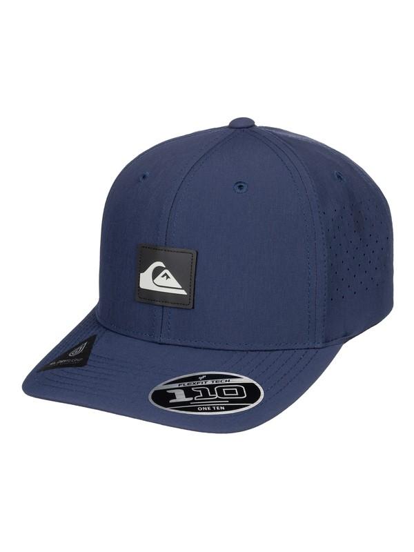 0 Adapted Amphibian Baseball Hat Blue AQYHA04295 Quiksilver