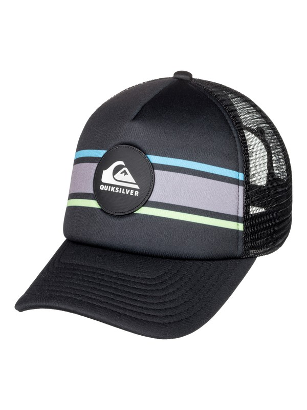 0 Seasons Debate Trucker Hat Black AQYHA04301 Quiksilver