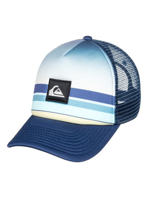 0 Sets Coming - Trucker Cap for Men Blue AQYHA04303 Quiksilver