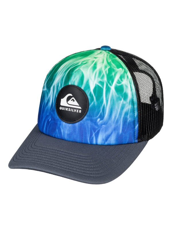 0 Bright Learnings - Gorra Trucker para Hombre Negro AQYHA04304 Quiksilver