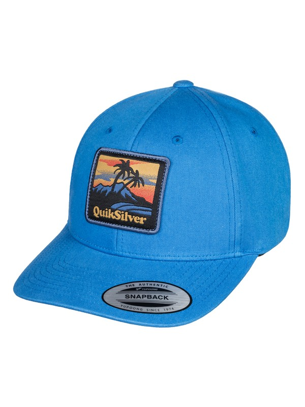 0 Starkness - Snapback Cap for Men Blue AQYHA04308 Quiksilver