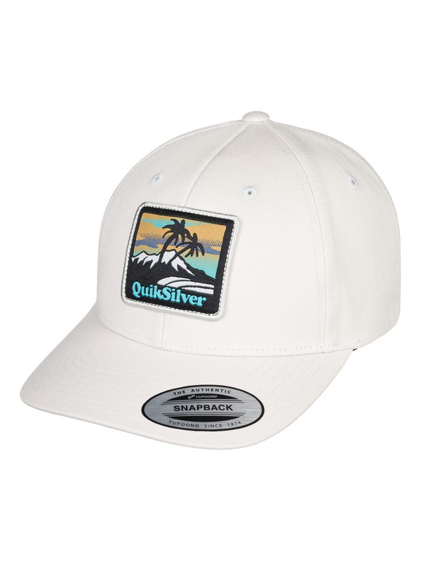 0 Starkness - Snapback Cap for Men White AQYHA04308 Quiksilver