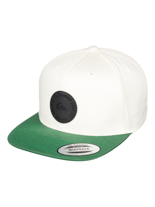 0 Hawkers - Snapback Cap for Men White AQYHA04311 Quiksilver