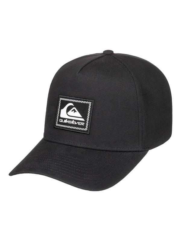 0 Tommy Momma Snapback Hat Black AQYHA04312 Quiksilver
