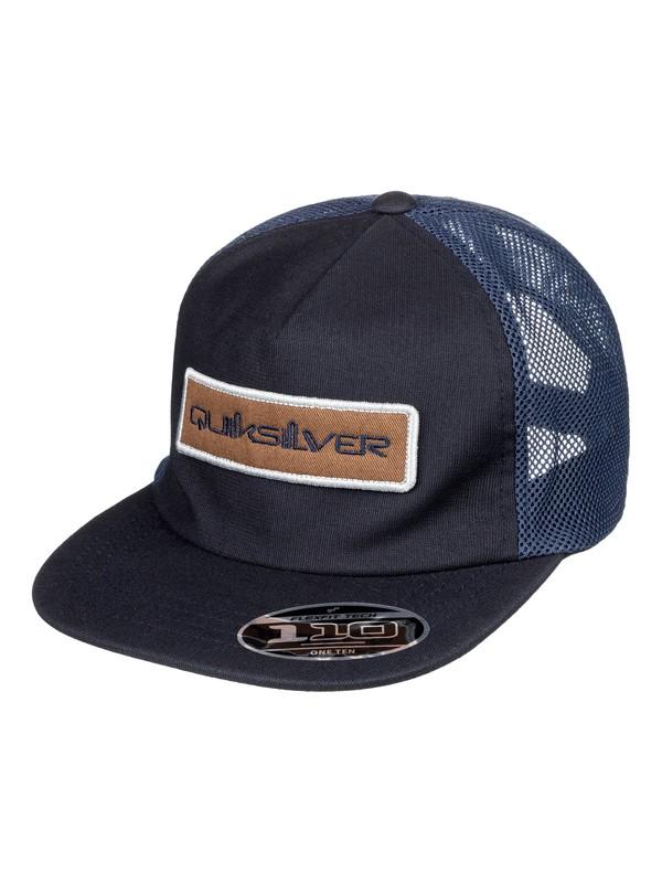 0 Purse Snatcher Trucker Hat Blue AQYHA04314 Quiksilver