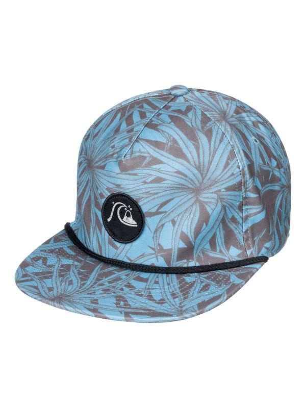 0 Dice Slicer Snapback Hat Blue AQYHA04315 Quiksilver