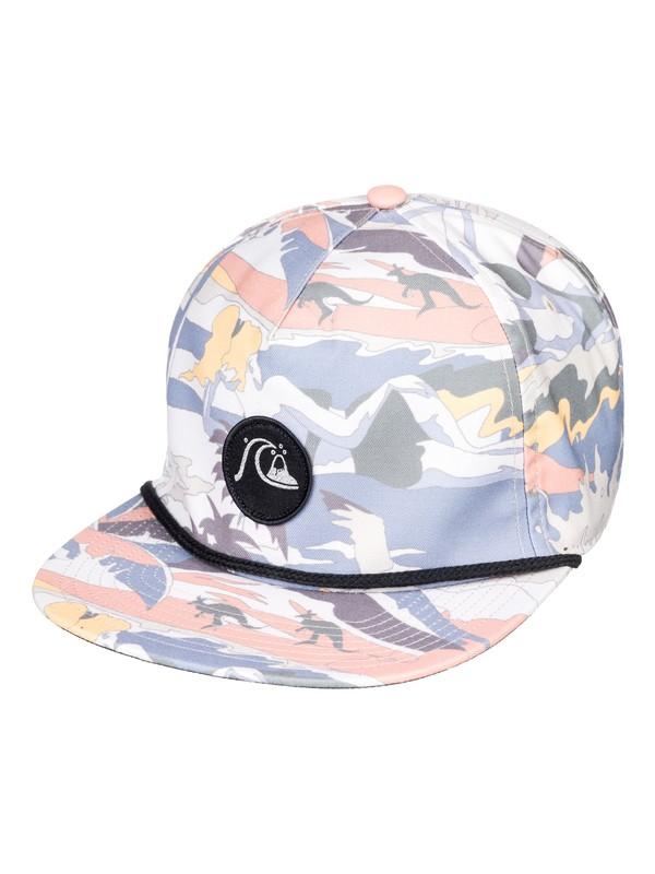 0 Dice Slicer Snapback Hat Grey AQYHA04315 Quiksilver