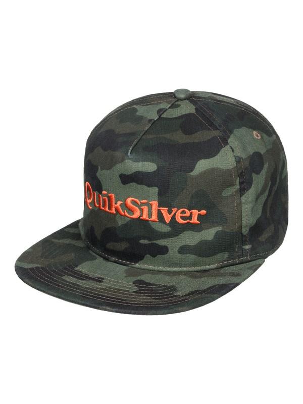 0 Charkerson Snapback Hat Green AQYHA04318 Quiksilver