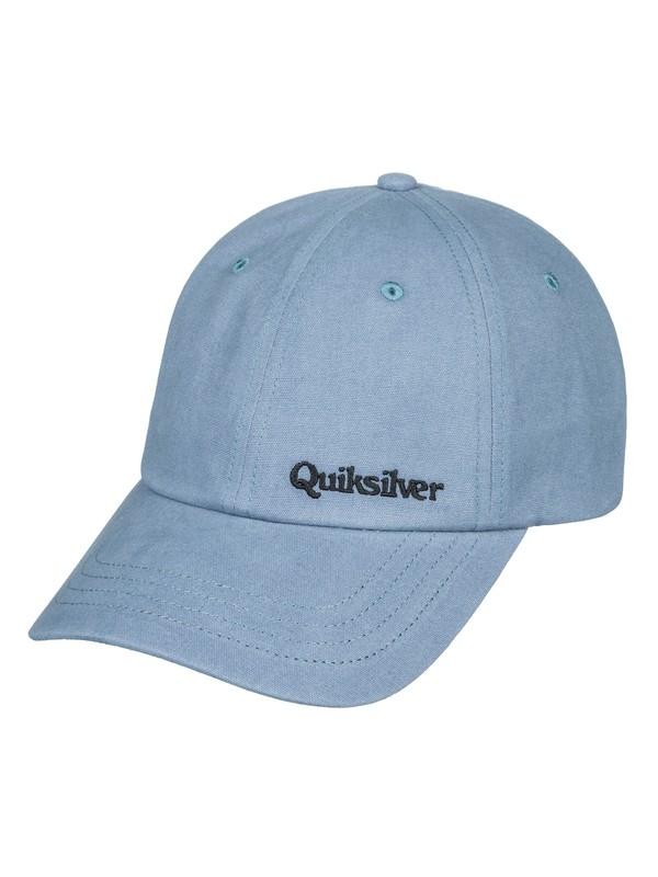 0 Cursin Bartender - Strapback Cap for Men Blue AQYHA04320 Quiksilver