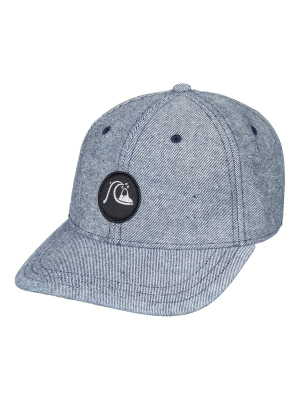0 Washers Snapback Hat Blue AQYHA04321 Quiksilver