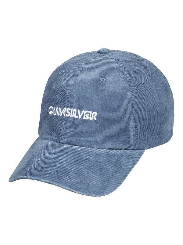 0 Labeled Dad Hat Blue AQYHA04322 Quiksilver