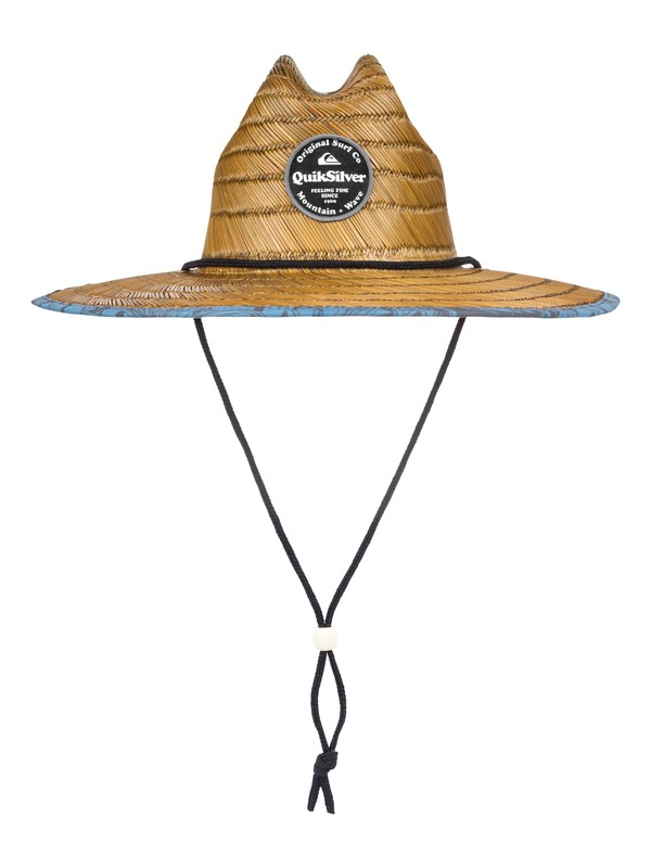 0 Outsider Repent Straw Lifeguard Hat  AQYHA04324 Quiksilver