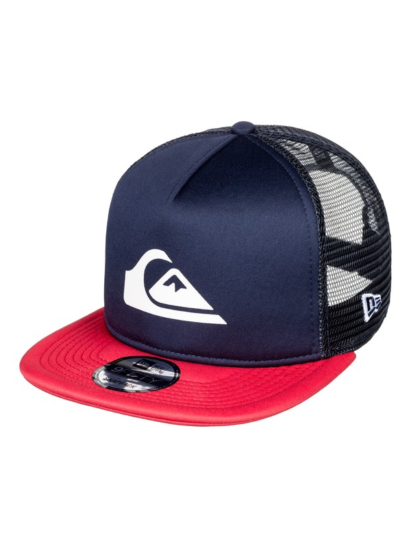 0 Podium Trucker Hat Blue AQYHA04332 Quiksilver