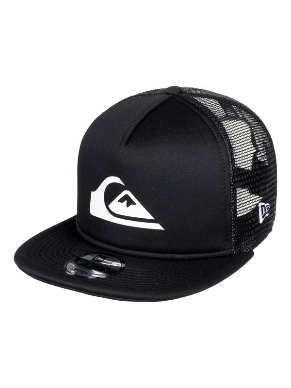 0 Podium Trucker Hat Black AQYHA04332 Quiksilver
