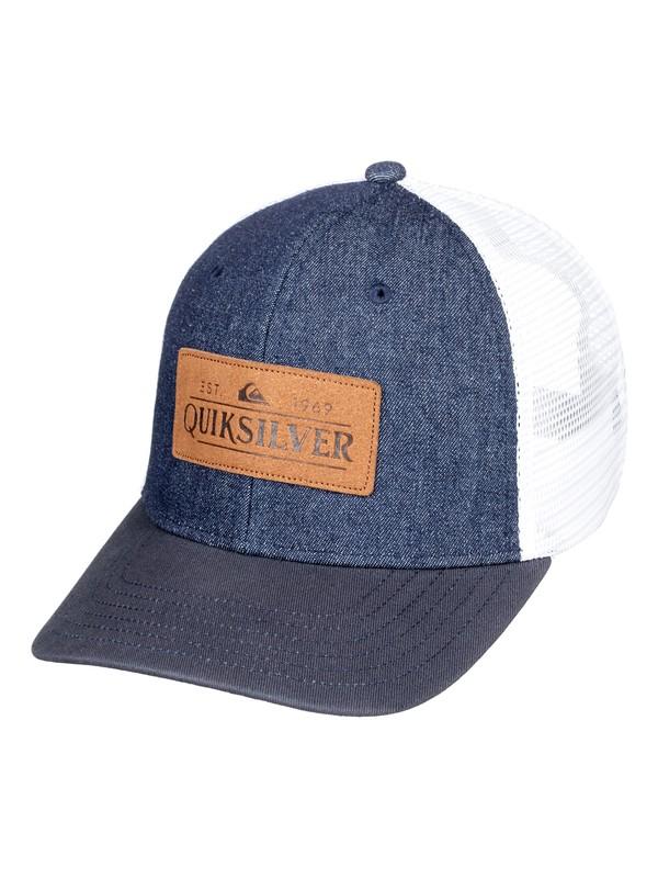 0 Vine Beater - Trucker Cap for Men Blue AQYHA04336 Quiksilver
