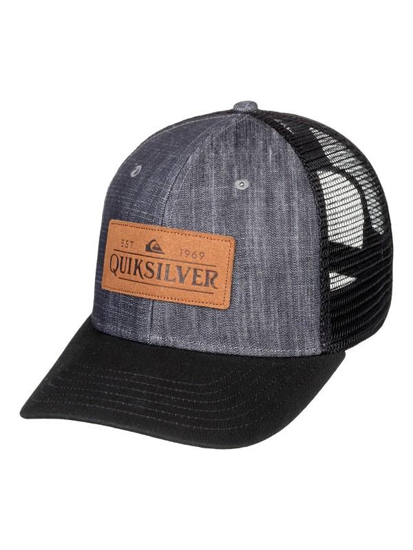 0 Vine Beater - Trucker Cap for Men Black AQYHA04336 Quiksilver