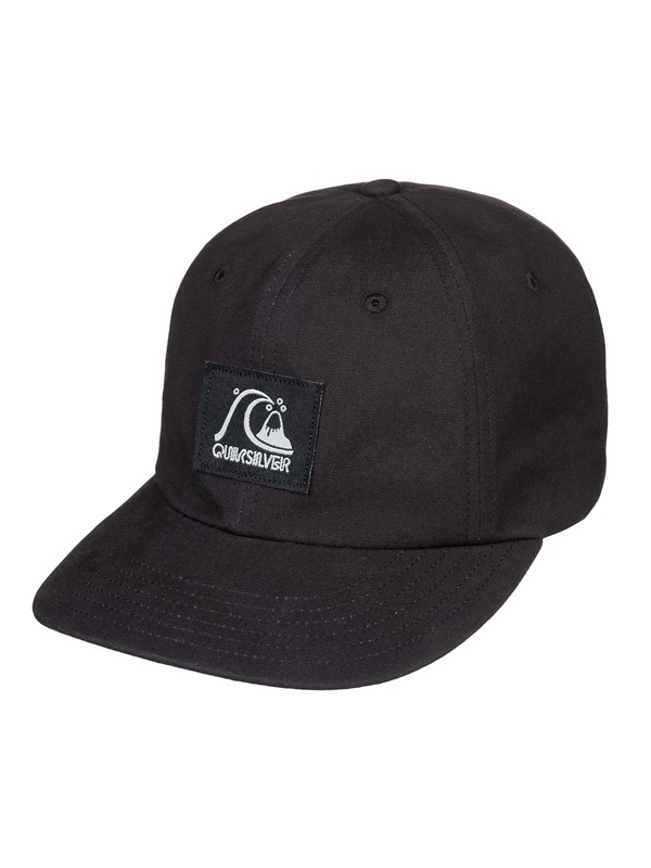 0 River Jetty - Snapback Cap for Men Black AQYHA04370 Quiksilver