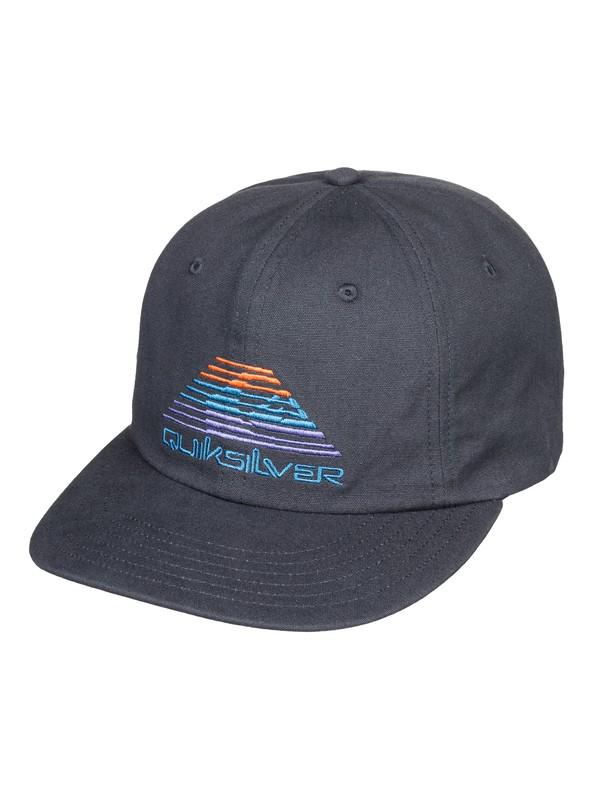 0 Comp Time - Snapback Cap for Men Black AQYHA04372 Quiksilver