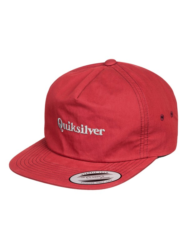 0 Gorra Broche de Presión Atrás - Days On End Rojo AQYHA04375 Quiksilver