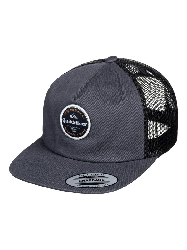 0 Gelled Out Trucker Cap Black AQYHA04376 Quiksilver