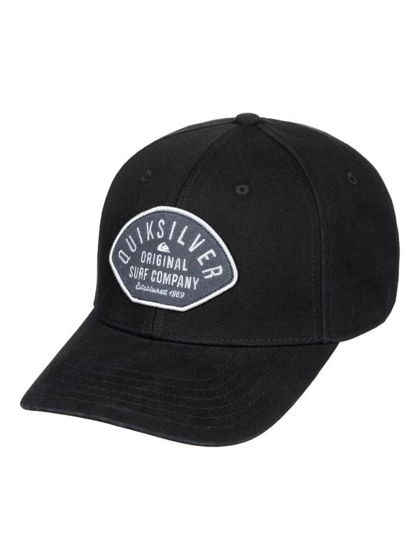 0 Bull Stash Snapback Cap Black AQYHA04378 Quiksilver
