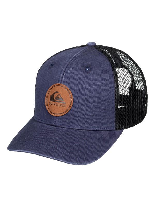 0 Hounder Trucker Cap Blue AQYHA04382 Quiksilver