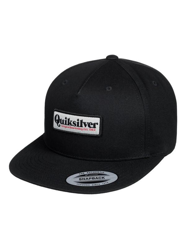 0 Grooveness Snapback Cap Black AQYHA04385 Quiksilver