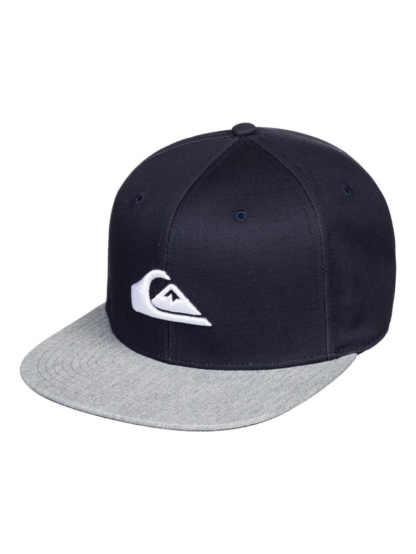 0 Chompers Snapback Hat Blue AQYHA04387 Quiksilver
