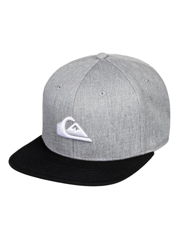 0 Chompers Snapback Hat Black AQYHA04387 Quiksilver