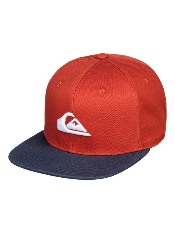 0 Chompers Snapback Hat Pink AQYHA04387 Quiksilver