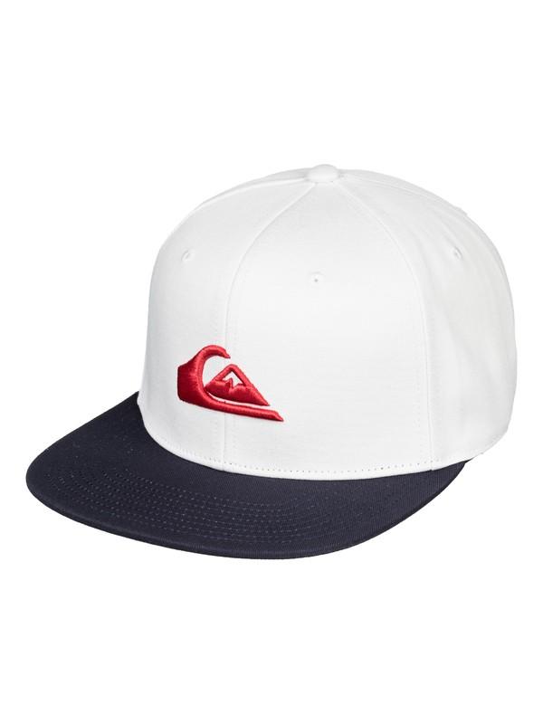 0 Chompers Snapback Cap White AQYHA04387 Quiksilver